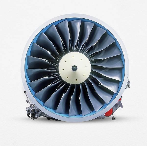 Blades Photograph - Turbofan Jet Engine by Dorling Kindersley/uig