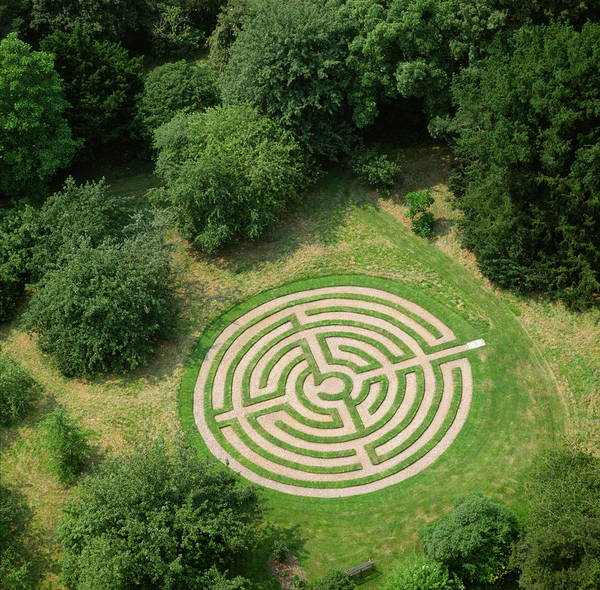 Wall Art - Photograph - Turf Maze by Skyscan/science Photo Library