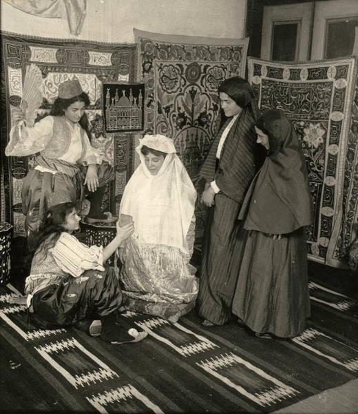 Wall Art - Painting - Turkey Bride, 1914 by Granger