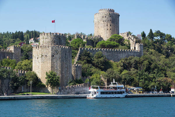 Fortification Photograph - Turkey, Istanbul City Walls Which by Emily Wilson