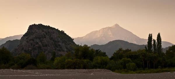 Turkish Mountains Art Print