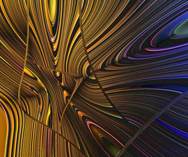 Digital Art - Turning Cold by Judi Suni Hall