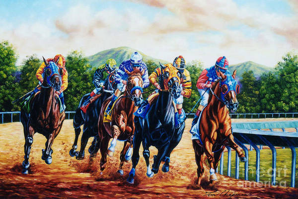 County Fair Painting - Turning For Home by Tom Chapman