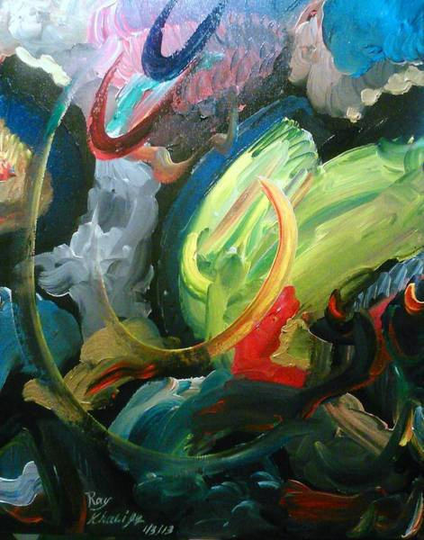 Painting - Turning Point by Ray Khalife