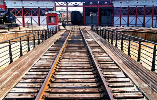 Railroad Turntable Art | Fine Art America