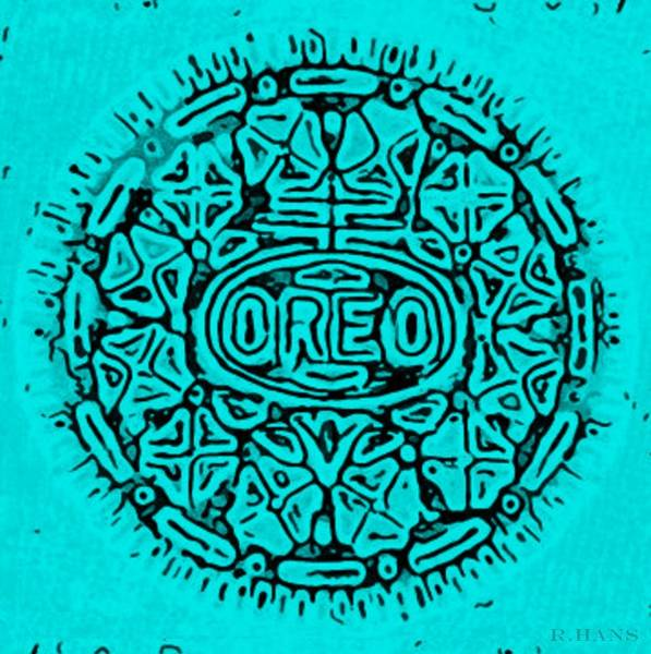 Wall Art - Photograph - Turquoise Oreo by Rob Hans