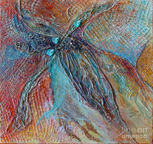 Mixed Media - Turquoise Jewel by Phyllis Howard