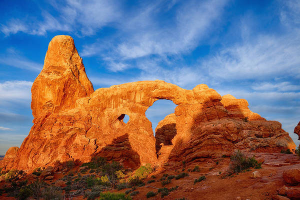 Photograph - Turret Arch by Greg Norrell