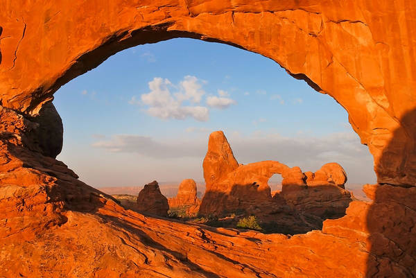 Photograph - Turret Arch Through The North Window - Arches National Park - Utah by Gregory Ballos