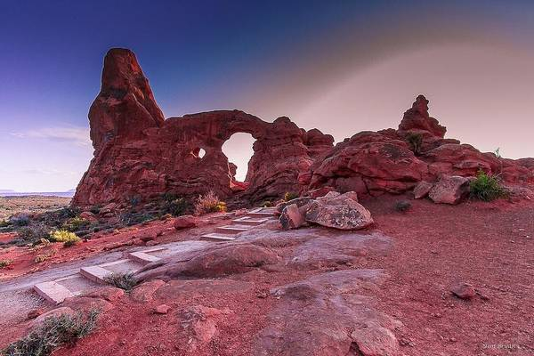 Wall Art - Photograph - Turret Arch by Tim Bryan
