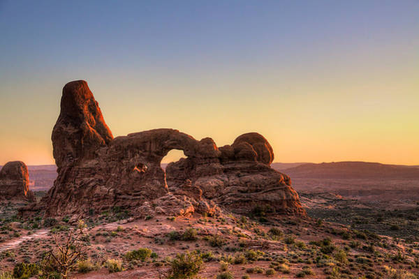 Wall Art - Photograph - Turret Arch by William Wetmore