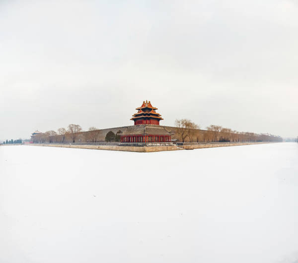 Chinese Pavilion Photograph - Turret Of The Forbidden City by Loonger