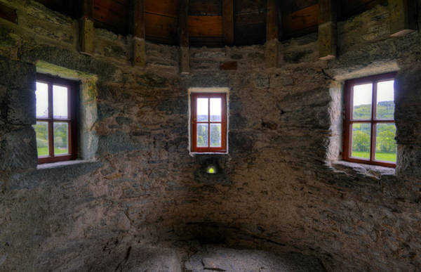 Photograph - Turret Windows by Matt Swinden