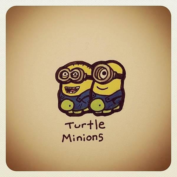 Reptiles Wall Art - Photograph - Turtle Minions #turtleadayjuly by Turtle Wayne