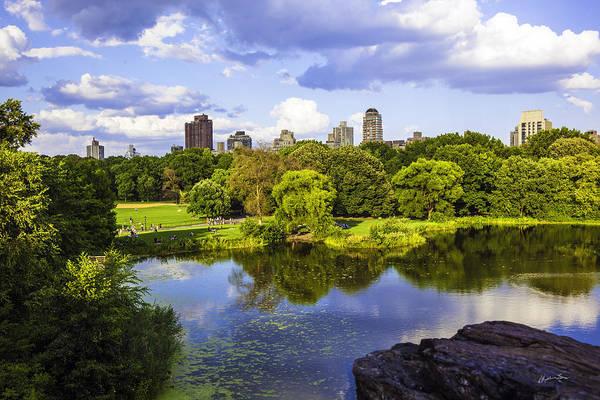 Wall Art - Photograph - Vista Rock View 2  - Central Park - Manhattan by Madeline Ellis
