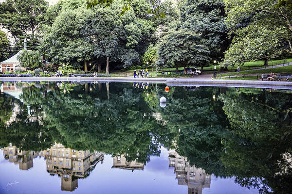 Wall Art - Photograph - Turtle Pond Reflections - Central Park - Ny by Madeline Ellis