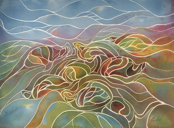 Painting - Turtles II by Johanna Axelrod