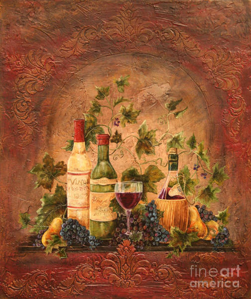 Tuscan Painting - Tusacn Treasures by Jean Plout