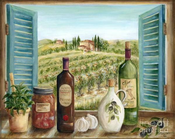 Wall Art - Painting - Tuscan Delights by Marilyn Dunlap