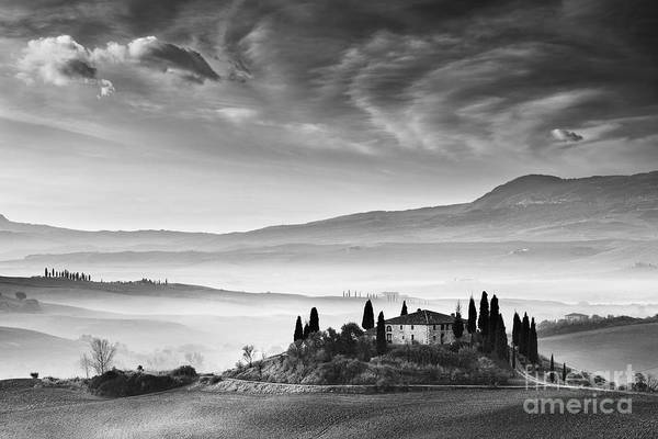 Farmhouse Photograph - Podere Belvedere 1 by Rod McLean