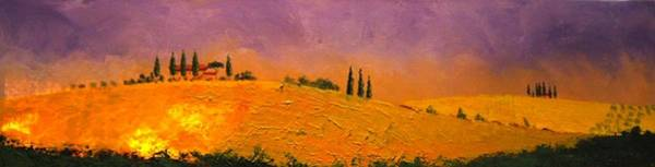 Painting - Tuscan Hills by William Renzulli