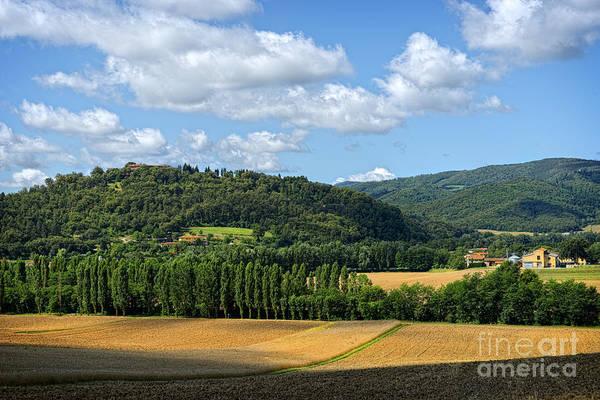 Digital Art - Tuscan Landscape 9 by Mauro Celotti
