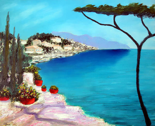 Painting - Tuscan Sea by Larry Cirigliano