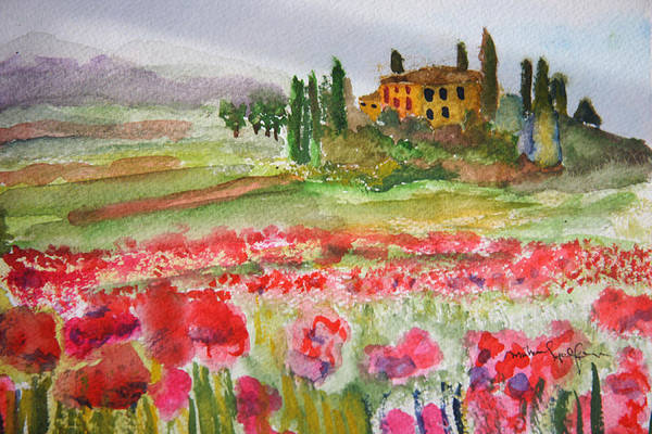 Painting - Tuscan Spring by Michael Helfen