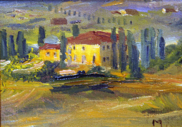 Painting - Tuscan Sunlight by Michael Helfen