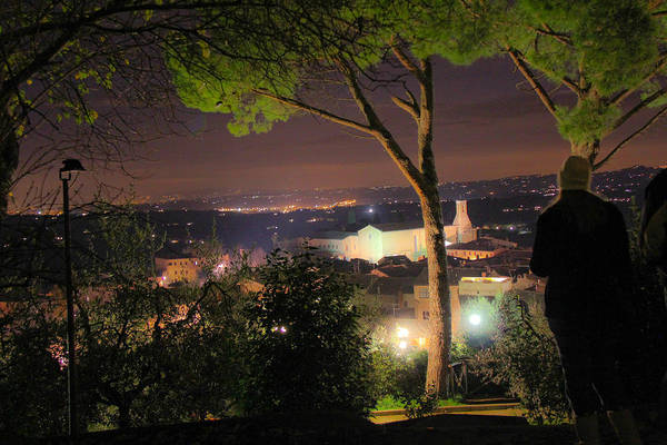 Tuscan View Art Print