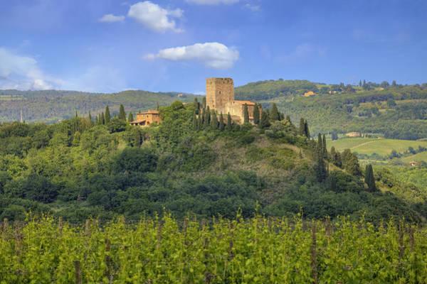 Siena Italy Photograph - Tuscany - Arigiano by Joana Kruse