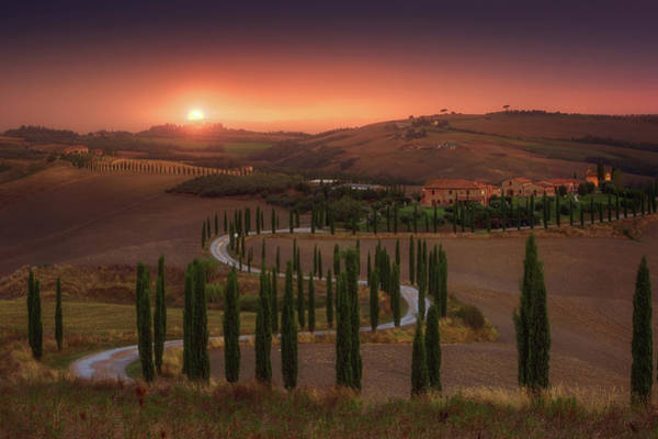 Wall Art - Photograph - Tuscany by Rostovskiy Anton