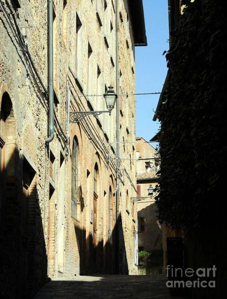 Photograph - Tuscany Shadows 2 by Mel Steinhauer