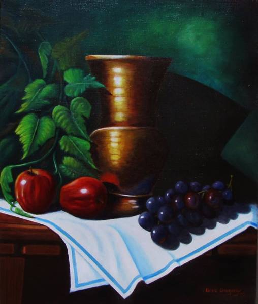 Painting - Tuscany Still Life by Gene Gregory