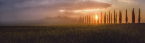 Wall Art - Photograph - Tuscany Sunrising by Javier De La