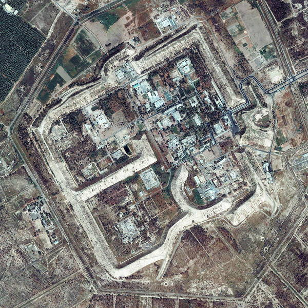 Iraqi Photograph - Tuwaitha Nuclear Plant by Geoeye/science Photo Library