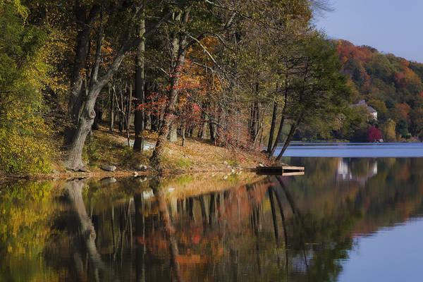 Photograph - Tuxedo Lake Autumn by Joan Carroll