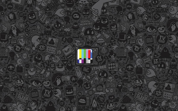 Tv Photograph - Tv Noise by Gianfranco Weiss