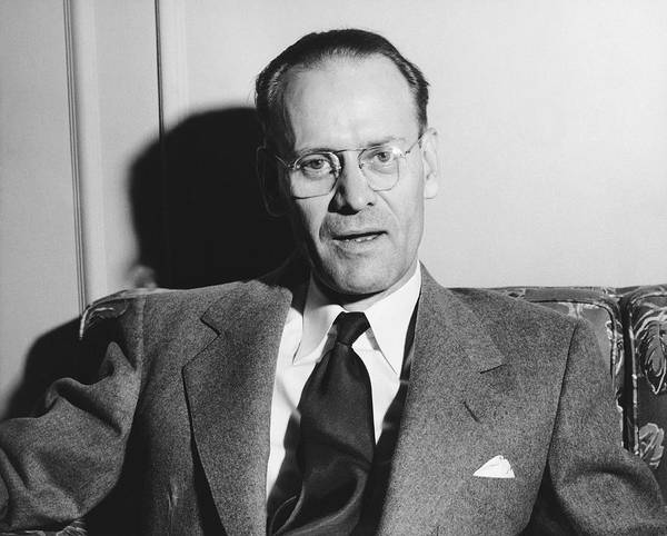 Photograph - Tv Pioneer Philo Farnsworth by Underwood Archives