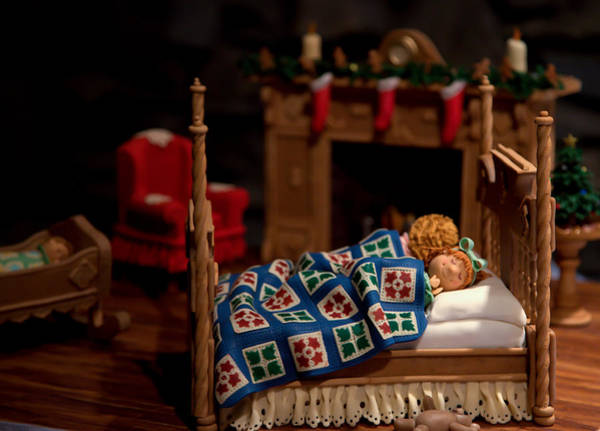 Grove Park Inn Photograph - Twas The Night Before Christmas by Karen Wiles