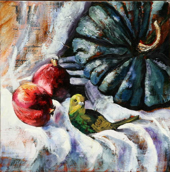 Painting - Tweetie Pie by Gaye White