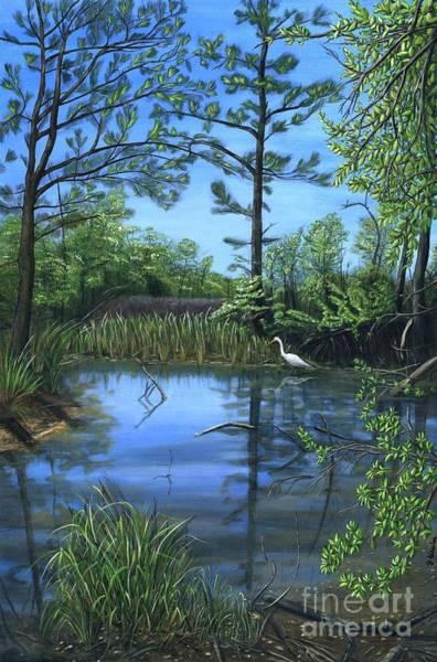Alabama Painting - Twelve Oaks by JoAnn Wheeler