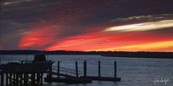 Lowcountry Digital Art - Twenty Minutes After Sunset by Phill Doherty