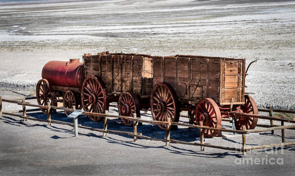 Furnace Creek Photograph - Twenty-mule Team by Robert Bales