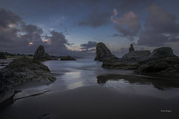 Wall Art - Photograph - Twilight At Bandon by Tim Bryan