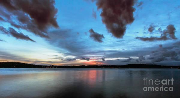 Photograph - Twilight On Lake Lanier by Bernd Laeschke