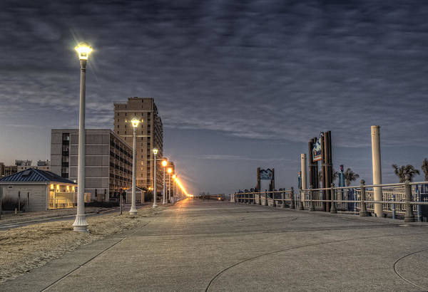 Photograph - Twilight Boardwalk by Pete Federico