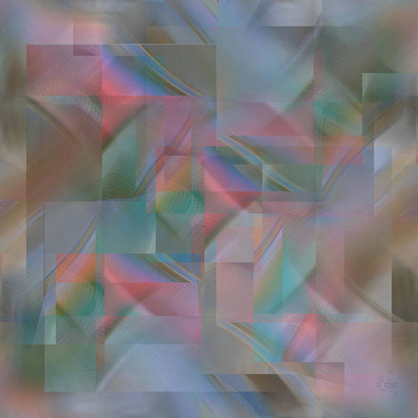 Digital Art - Twilight - Digital Abstract by rd Erickson