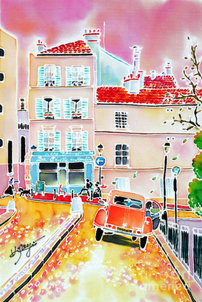 Twilight Montmartre Art Print