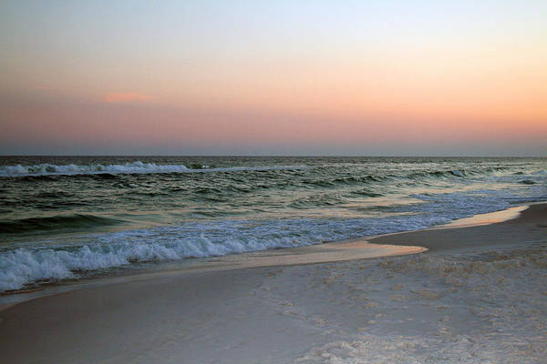 Photograph - Twilight Ocean Beach by Karen Adams